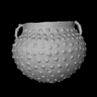 3D model of pottery