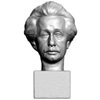 3D model of Einstein's head